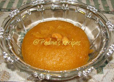 Recipe Of Sooji Halwa