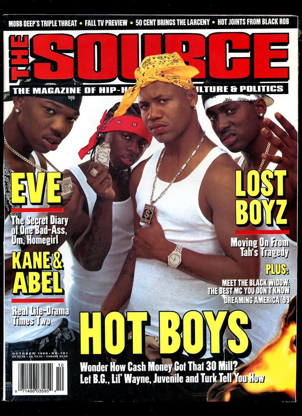 The Source Magazine #121 : The Hot Boys | Hip Hop Rap Magazines