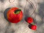 tovade halsband, äpple