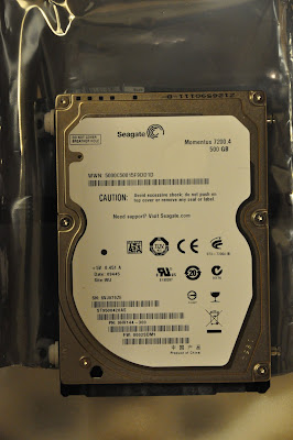Seagate ST9500420AS 7200rpm 500gig, firmware: 2SDM1