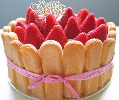 Strawberry Cake Pantip