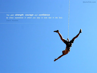 Strength, Courage and Confidence Wallpapers