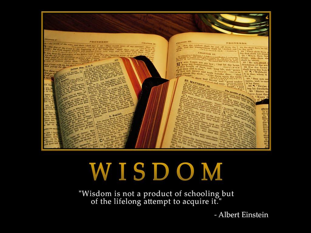 Motivation-Wallpaper: ... Wisdom