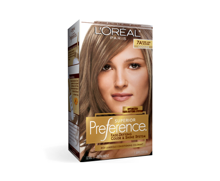 Yumiko's Blog: L'Oreal Color Preference in 7A Dark Ash Blonde Review