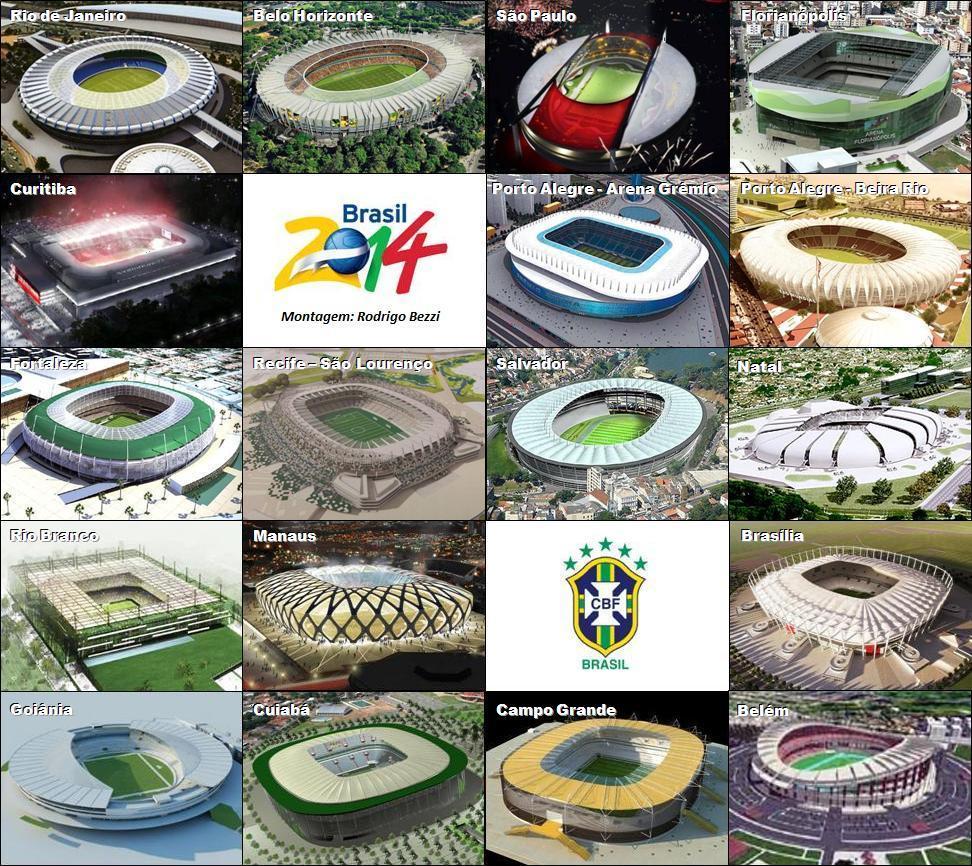 Tabla de posiciones de Sudamérica , BRASIL 2014