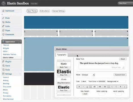 Script Resources Sharing: Elastic WordPress WYSIWYG Editor Theme