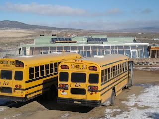 earthship school visit