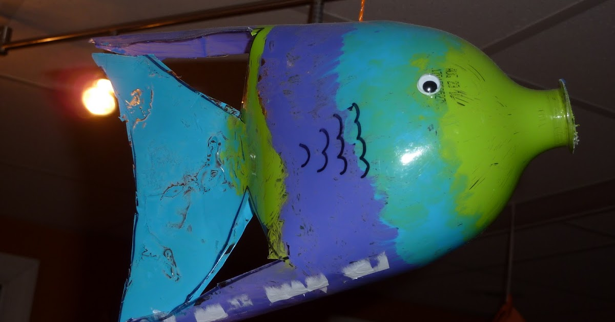 My Scrap Happy Home Swim With The Fish Recycled Soda