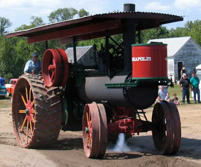 steam engine tractor