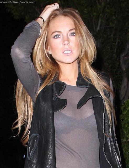 Hollywood Actress In Transparent Bra