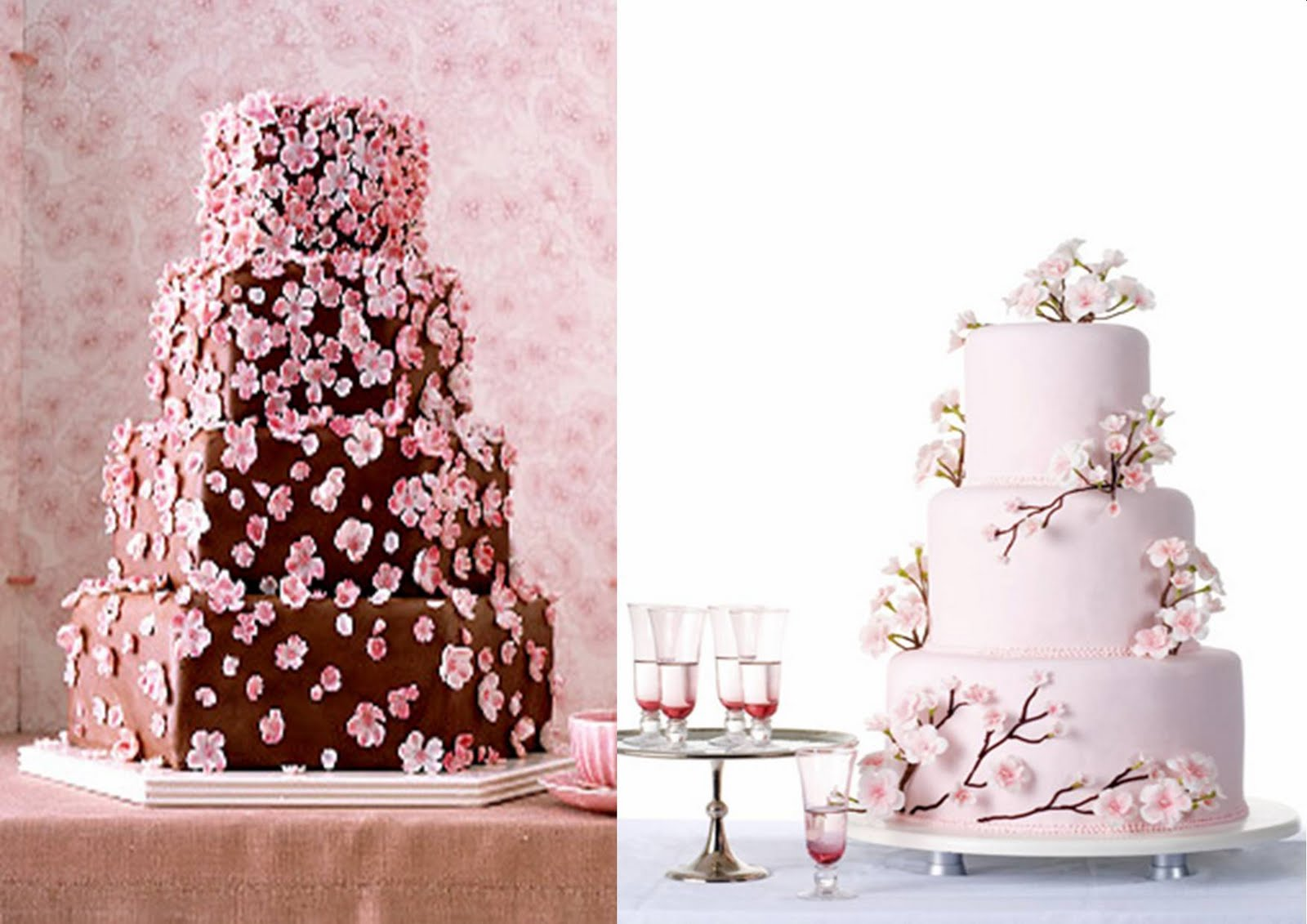 Icing Designs: Sweet Cherry Blossoms