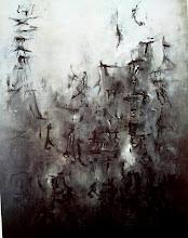 Foule noire 1955 Zao Wou KI