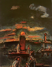 coucher de soleil 1943
