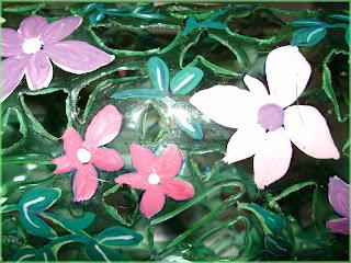 Garrafa+pet+4+rosodecires+jardim+da+arte