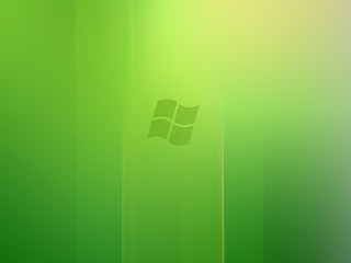 Windows Vista Green Wallpaper