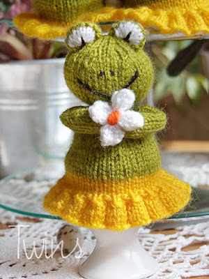 PDF Knit Frog Pattern by AmyGaines on Etsy