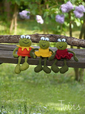 Stana's Critters Etc.: Knitting Pattern for Chadwick and Igor, the