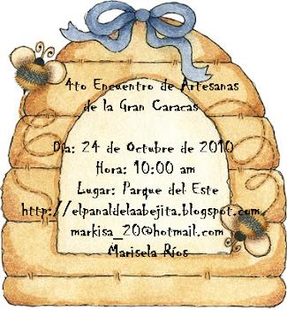 4to. ENCUENTRO DE ARTESANAS DE LA GRAN CARACAS