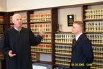 Swearing in to the California Bar