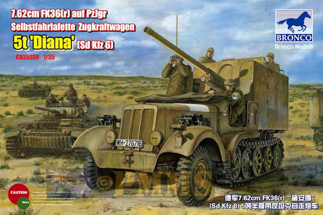 German Sd.kfz 6 5t 'Diana' !!!
