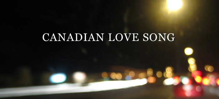 Canadian Love Song