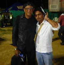 con el maestro CARLOS PIÑA