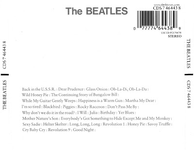 beatles white album. The Beatles White Album Song
