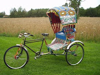picture of rickshaw