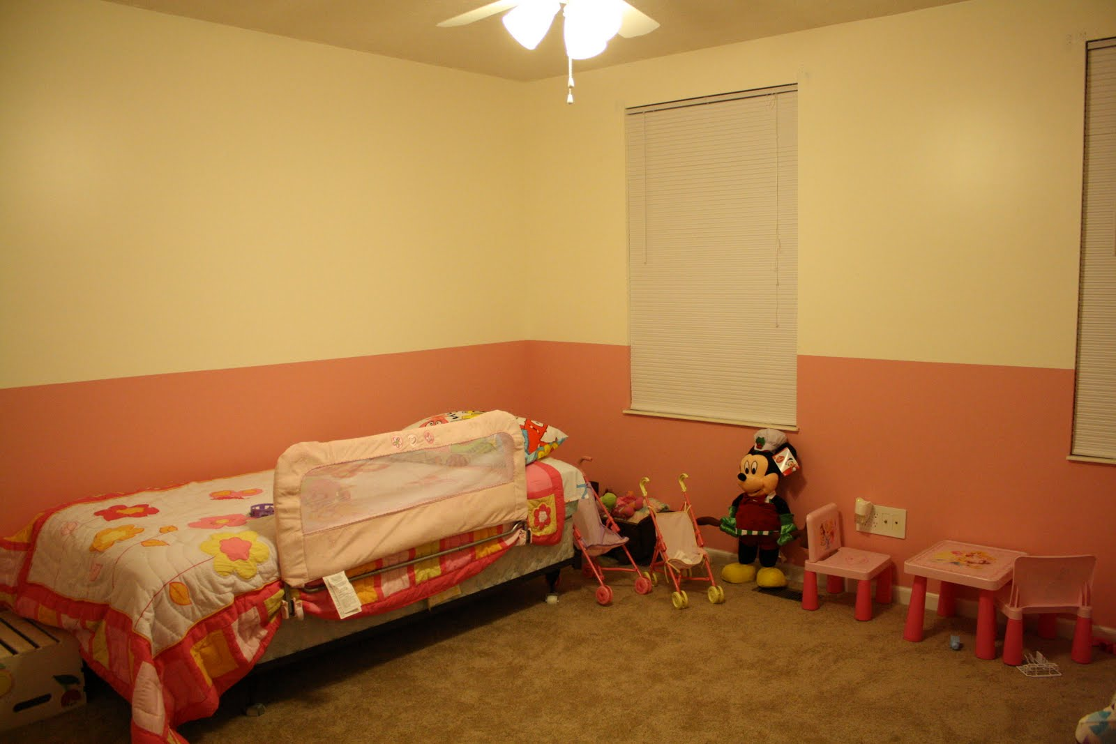 Woody's Journal: Big Girl Bedroom