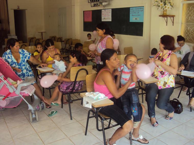RETOMADA DA PASTORAL DA CRIANÇA NA SEDE DE IRUPI
