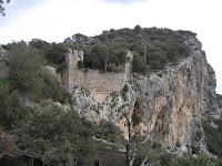 Part de les ruines del Castell d'Alaró