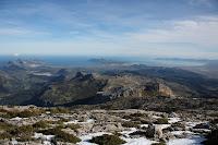 Badia de Pollença i Alcúdia des del Puig Tomir