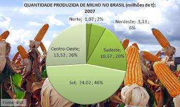 Produção brasileira de milho