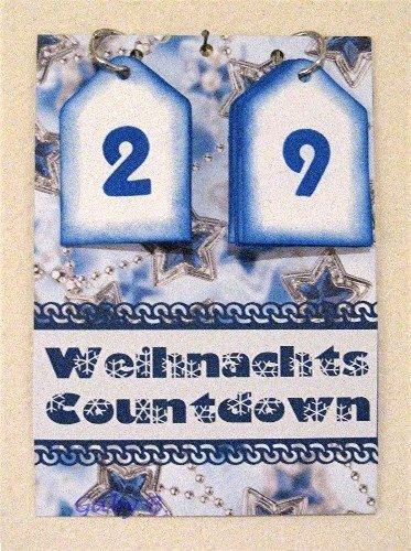 gaby 39 s ideenreich weihnachts countdown christmas countdown. Black Bedroom Furniture Sets. Home Design Ideas