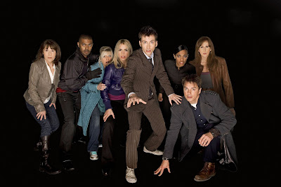 All the companions return to form the Doctor's special 'army'