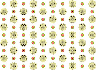 apple flower pattern