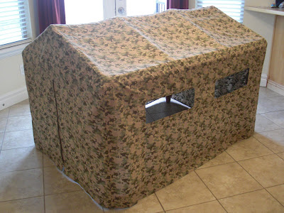 card table fort  for kids