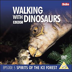 برفقة الديناصورات : الحلقة الخامسة - أرواح الغابة الثلجية - Walking with Dinasaurs : 5 - Spirits of the Ice Forest - BBC Dinosaurs5