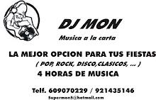 DJ MON Música a la carta