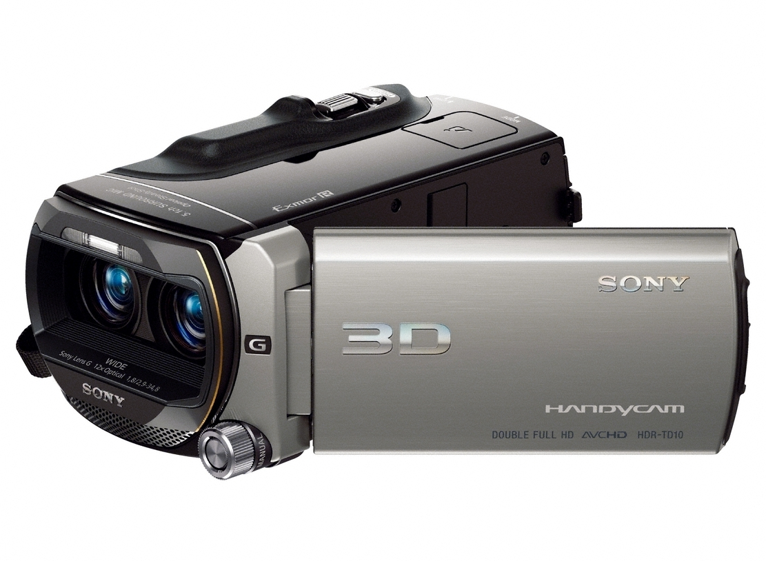 The Sony Handycam HDR-TD10 3D