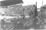 Actos Populares. Discurso, Estadio de Ferro, Buenos Aires 1988. 20 mil personas