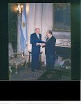 Credenciales. Argentina entrega el Documento para abrir la Primera Misión Diplomática Palestina'96