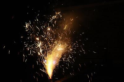 Diwali fireworks (anar)