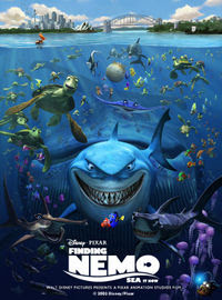 Great animation: Finding Nemo (2003)