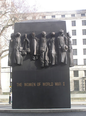 A memorial to the women of Britain during World War II