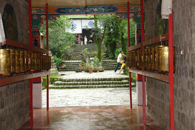 Entrance to Norbulingka Institute in Dharamshala