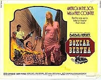 Boxcar Bertha - Directed by Martin Scorsese (1972) - an early movie about a young girl into robbery
