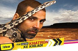 Khatron Ke Khiladi on Color with Akshay Kumar