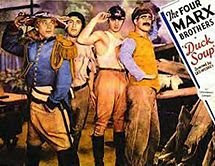 Duck Soup movie starring Marx Brothers (1933)