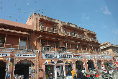 Shops in the old market of Jaipur